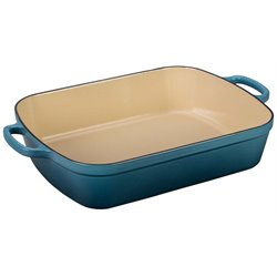 Le Creuset Signature Rectangular Roaster in Marine