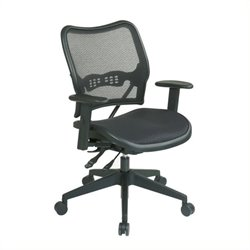 Scranton & Co Office Chair in Black