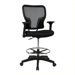 Scranton & Co Mesh Office Chair in Black