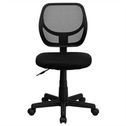 MER-1133 Mid-Back Mesh Task and Computer Office Chair in Black