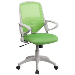Scranton & Co Mid-Back Office Chair in Green