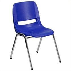 Scranton & Co Stacking Chair in Navy
