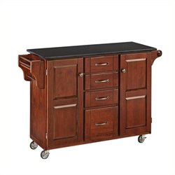 MER-1183 Kitchen Cart in Cherry