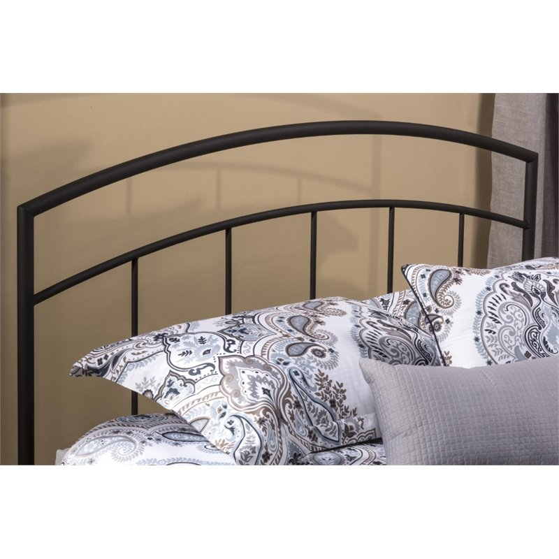 Hawthorne Collections Full Queen Metal Spindle Headboard