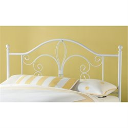 MER-1183 Ruby Headboard in Textured White