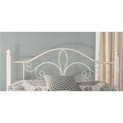 MER-1183 Spindle Headboard in Textured White 2 No Frame