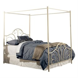 MER-1183 Hillsdale Dover Metal Bed in Cream