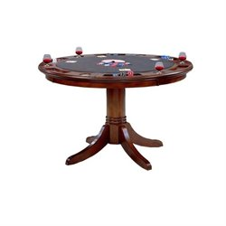 Hawthorne Collections Multi-Game Table in Cherry