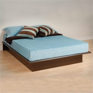 MER-1183 Prepac Manhattan Platform Bed in Espresso Finish