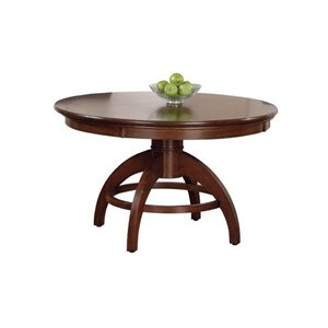 Hawthorne Collections Multi-Game Table in Medium Brown Cherry