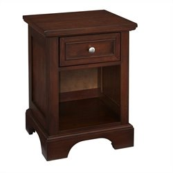 Hawthorne Collections 1 Drawer Nightstand in Cherry