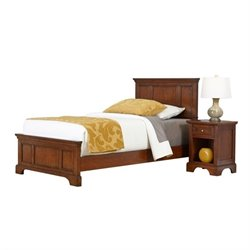 MER-1183 2 Piece Twin Panel Bedroom Set 1