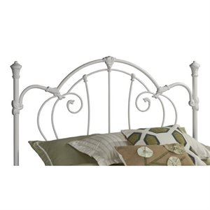 MER-1183 Spindle Headboard in White 1