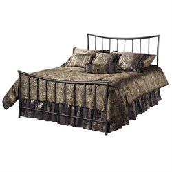 MER-1183 Metal Bed in Magnesium Pewter