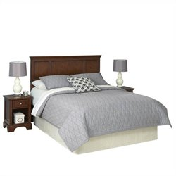 MER-1183 Headboard and Two Night Stands