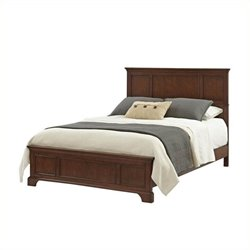 MER-1183 Wood Panel Bed