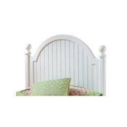 MER-1183 Panel Headboard in Off White 1