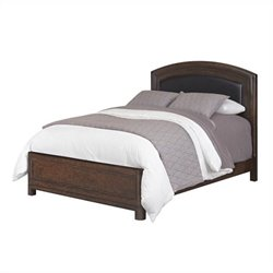 MER-1183 Upholstered Leather Bed