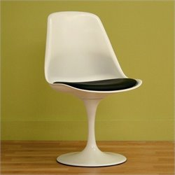 Atlin Designs Dining Chair in White
