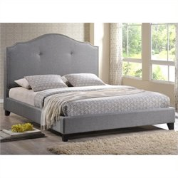 Atlin Designs Upholstered Platform Bed in Gray (12)