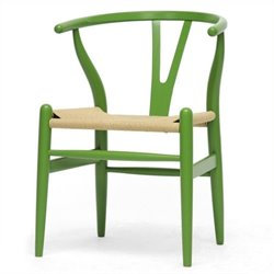 Atlin Designs Dining Chair in Green