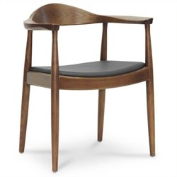 Atlin Designs Dining Chair in Dark Brown