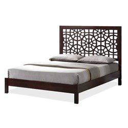 Atlin Designs Platform Bed in Dark Brown (1)