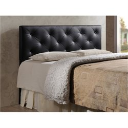 Atlin Designs Upholstered Queen Faux Leather Headboard