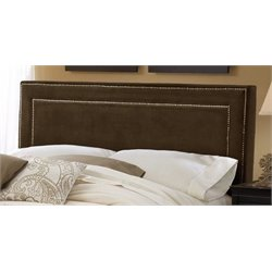 Merch-1188 Atlin Designs Panel Headboard in Chocolate-AN
