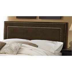 Atlin Designs King Panel Headboard in Chocolate
