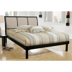 Merch-1188 Modern Upholstered Platform Bed-SH