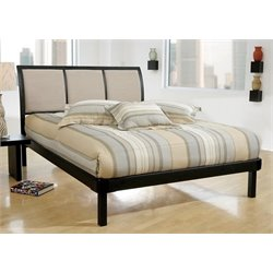 Atlin Designs Upholstered Queen Modern Platform Bed
