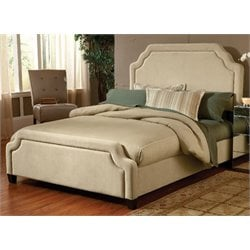 Merch-1188 Atlin Designs Upholstered Bed in Buckwheat-AW