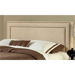 Atlin Designs Upholstered Queen Panel Headboard in Buckwheat