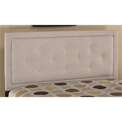 Merch-1188 Atlin Designs Upholstered Panel Headboard in Cream