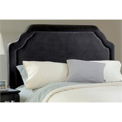 Merch-1188 Atlin Designs Upholstered Panel Headboard in Black-B