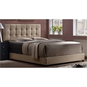 Merch-1188 Atlin Designs Upholstered Panel Bed in Beige-c
