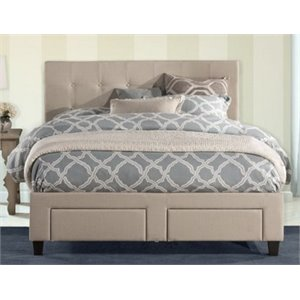Merch-1188 Atlin Designs Upholstered Storage Panel Bed in Beige-d