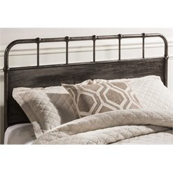 Merch-1188 Atlin Designs Spindle Panel Headboard in Rubbed Black