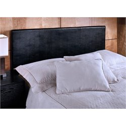 Atlin Designs Full or Queen Panel Headboard in Black