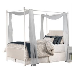 Merch-1188 Atlin Designs Panel Canopy Bed in Oatmeal-SH