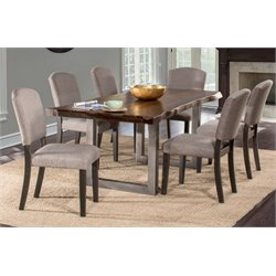Merch-1188 Atlin Designs Dining Set in Gray Sheesham