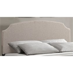 Atlin Designs Full Panel Headboard in Ivory
