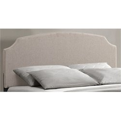Atlin Designs King Panel Headboard in Ivory