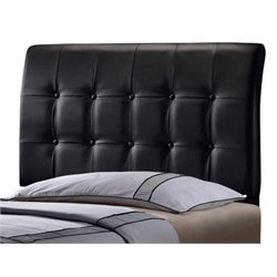 Merch-1188 Atlin Designs Tufted Panal Headboard in Black-HJ