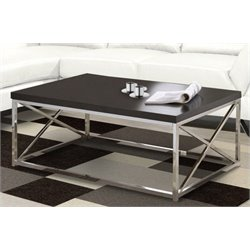 Atlin Designs Coffee Table in Rich Cappuccino