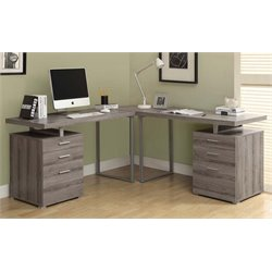 Merch-1188 Atlin Designs L Shaped Home Office Desk-X
