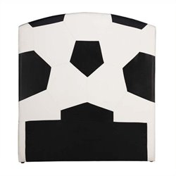 Rosebery Kids Soccer Twin Panel Headboard