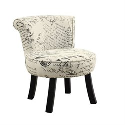 Rosebery Kids French Print Chair in Beige