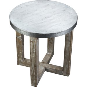 Burnham Home Designs Round Accent Table -SH11